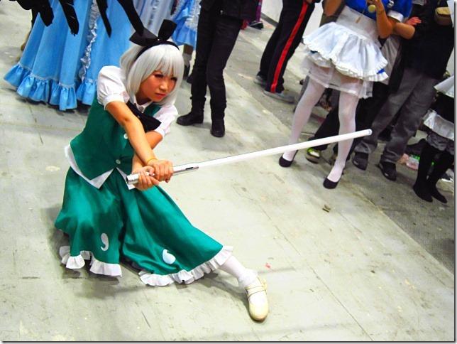 妖梦的光束剑
