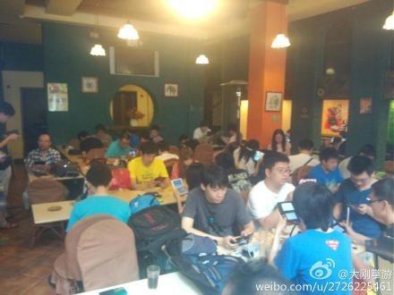 """北京""""掌天下""""电玩文化俱乐部及北京3DS,PSV掌机群联机聚会大联盟组织的3DS聚会"""