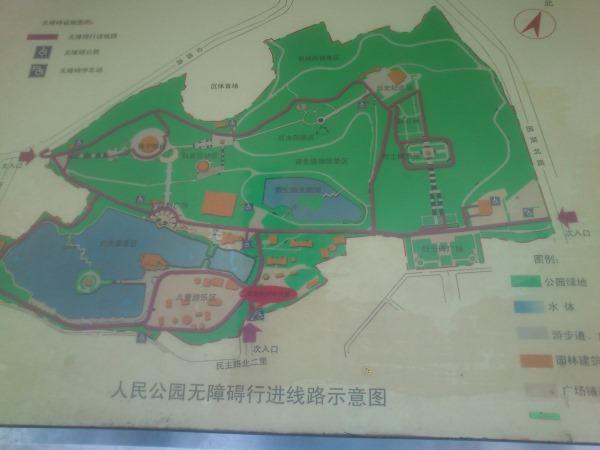 南宁市人民公园地图