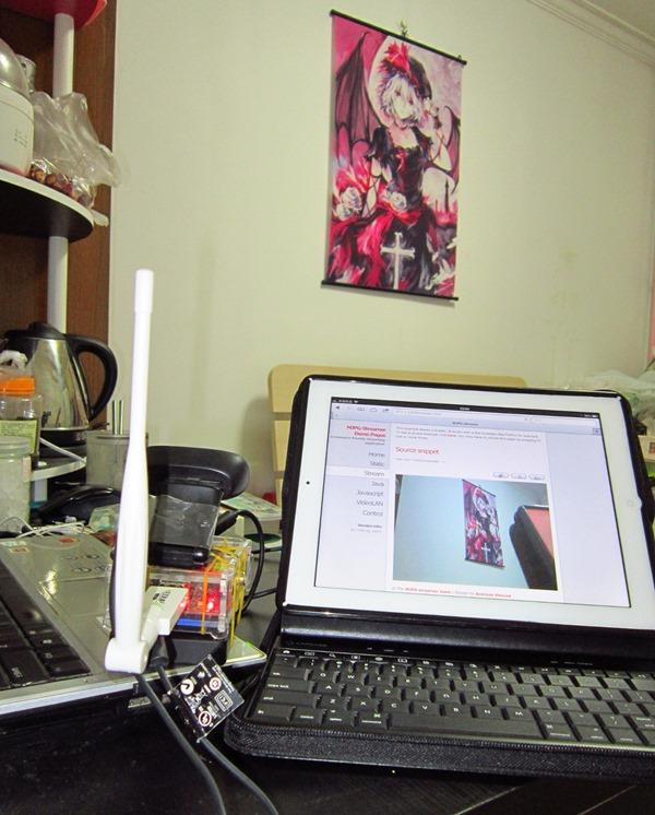 使用树莓派制作近距离遥控摄像机(无线网卡+摄像头,手机控制)